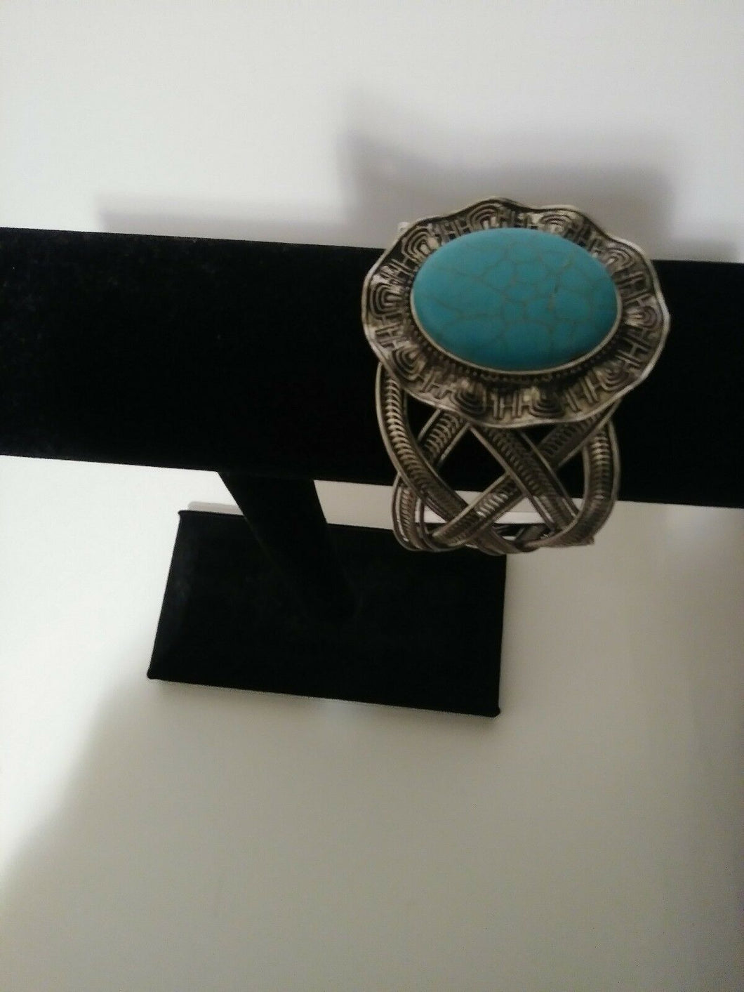 Womens Turquoise Cuff Bracelet