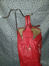 Load image into Gallery viewer, Diophy Womens Red Evening Shoulder Purse With Beautiful Sparkling Rhinestones
