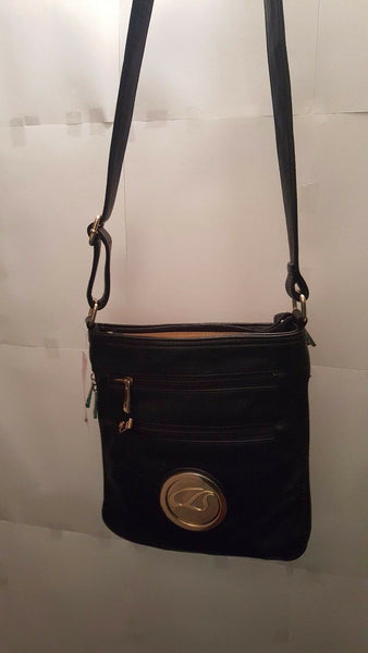 Womens Black Knight Cross Body Purse