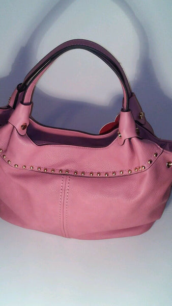 Pink Bucket Shoulder Handbag Purse