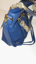 Load image into Gallery viewer, Womens Navy Blue Casual Shoulder Handbag Purse