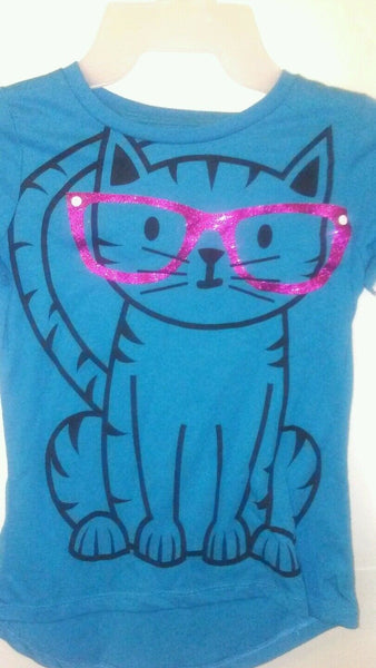 Girls Graphic T- Shirt Large 4-5 XS