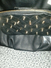 Load image into Gallery viewer, Womens Black Rock Star Casual Purse With Spikes On It