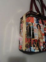 Michelle Obama Red Handbag Purse