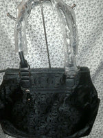 Womens G Black Casual Hand Bag Purse