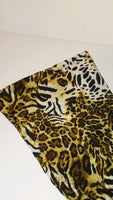 Womens Animal Print Casual Pants