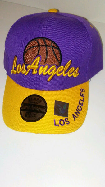 Mens Los Angeles Basketball Baseball Cap