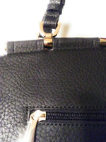 Womens Black Shoulder Purse