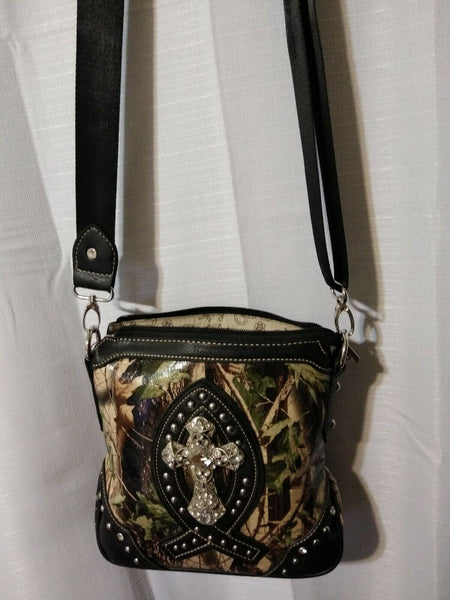 Montana West Camouflage Crossbody Bag