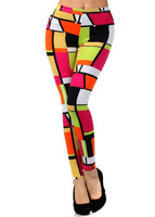 Womens Rectangler Geometric Leggings S, M, L