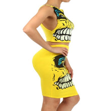 Load image into Gallery viewer, Womens Yellow Skeleton