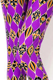 Womens Purple Passion Leggings S M L