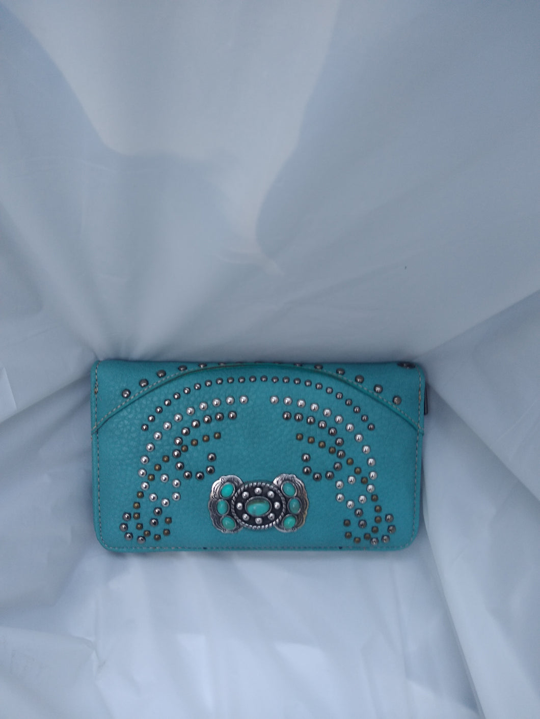 Montana West Turquoise Wallet