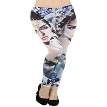 Load image into Gallery viewer, Womens Digital Print Leggings S M L