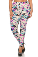 Load image into Gallery viewer, Womens Wonderland Leggings L XL 1X 2X