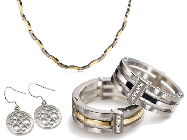Fine Crafted Titanium Jewelry For Every Occasion