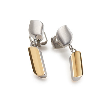 0505-10 Boccia Titanium Earrings