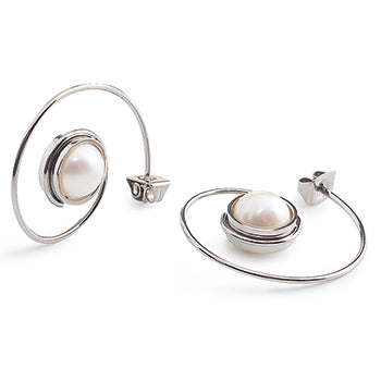 0505-11 Boccia Titanium Earrings