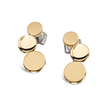 0503-09 Boccia Titanium Earrings