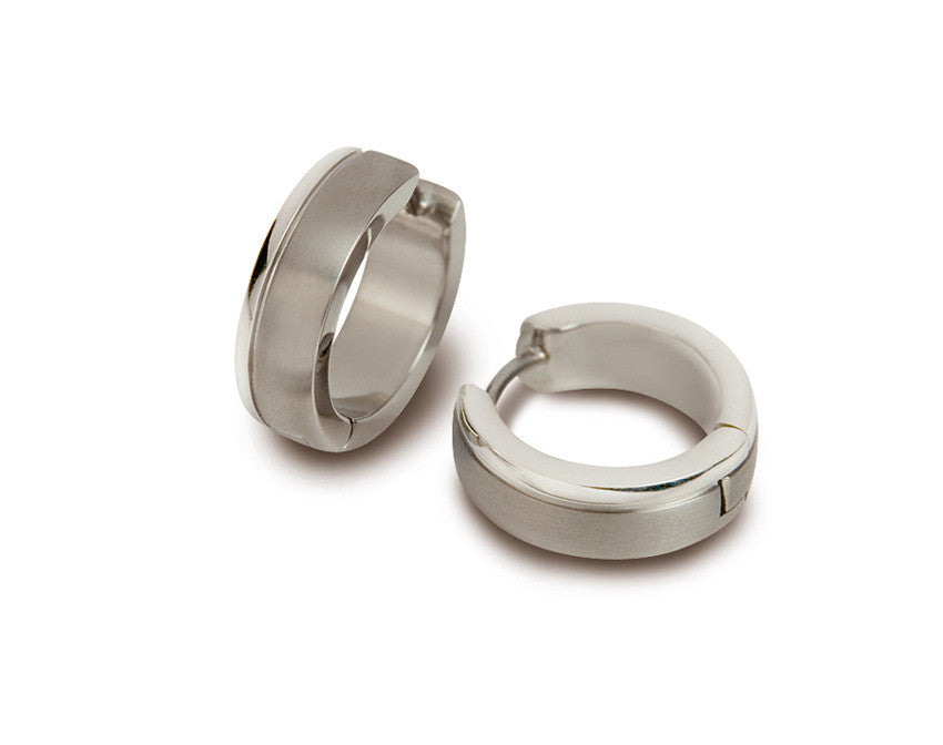 0539-11 Boccia Titanium Earrings