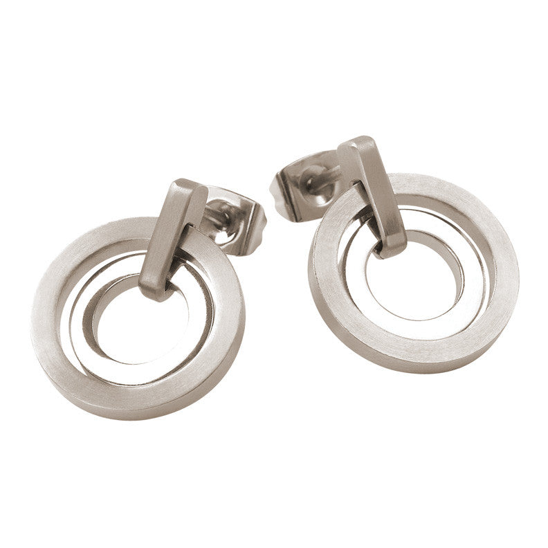 0540-01 Boccia Titanium Earrings