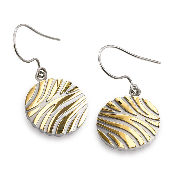 0576-02 Boccia Titanium Earrings