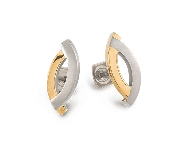 0591-02 Boccia Titanium Earrings