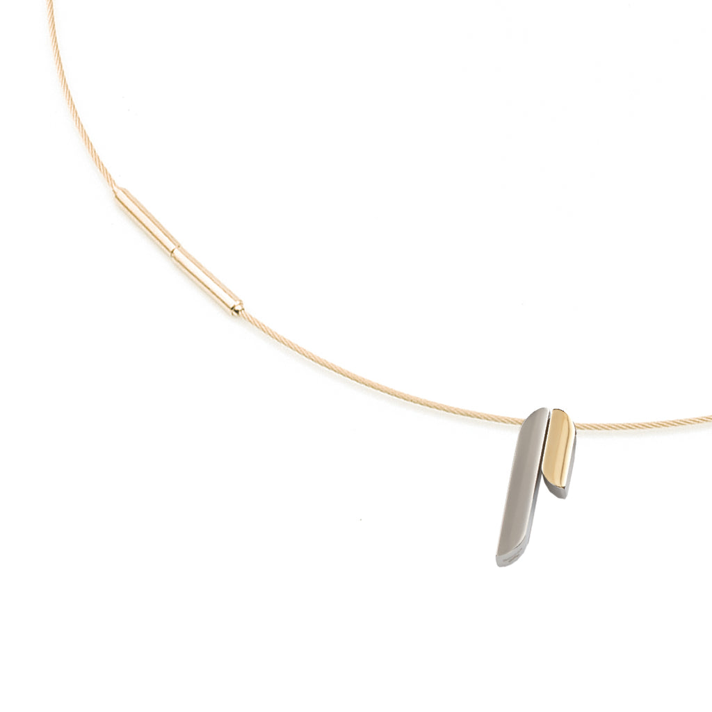 gray pendant necklace titanium products