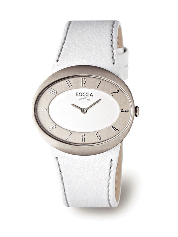 3165-02 Ladies Boccia Titanium Watch