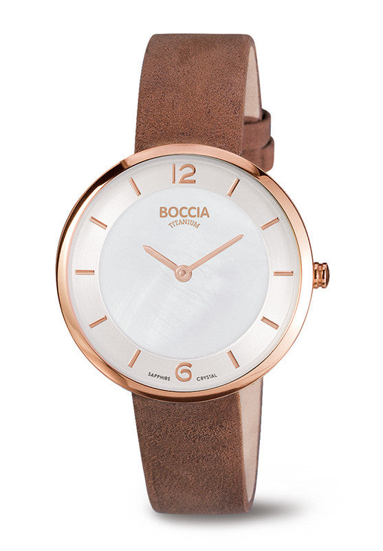 3244-04 Ladies Boccia Titanium Watch