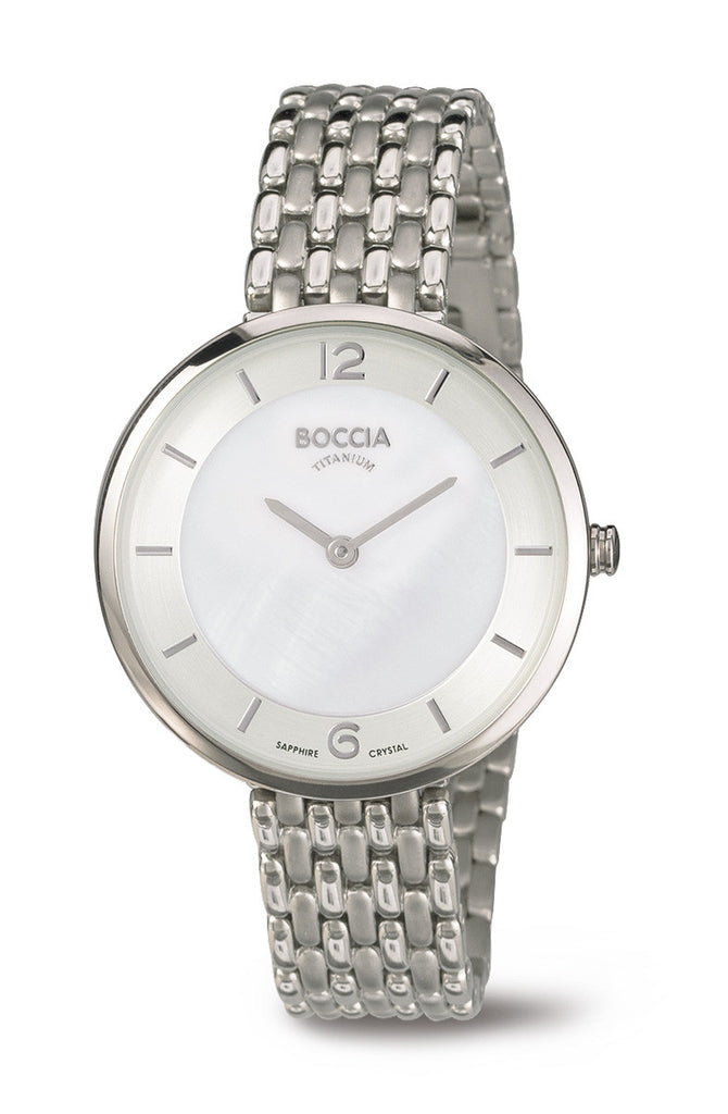 3244-05 Ladies Boccia Titanium Watch