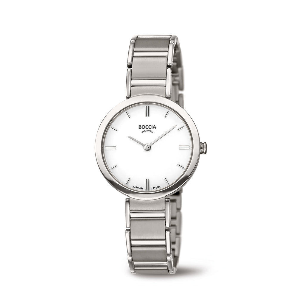 3289-01 Ladies Boccia Titanium Watch