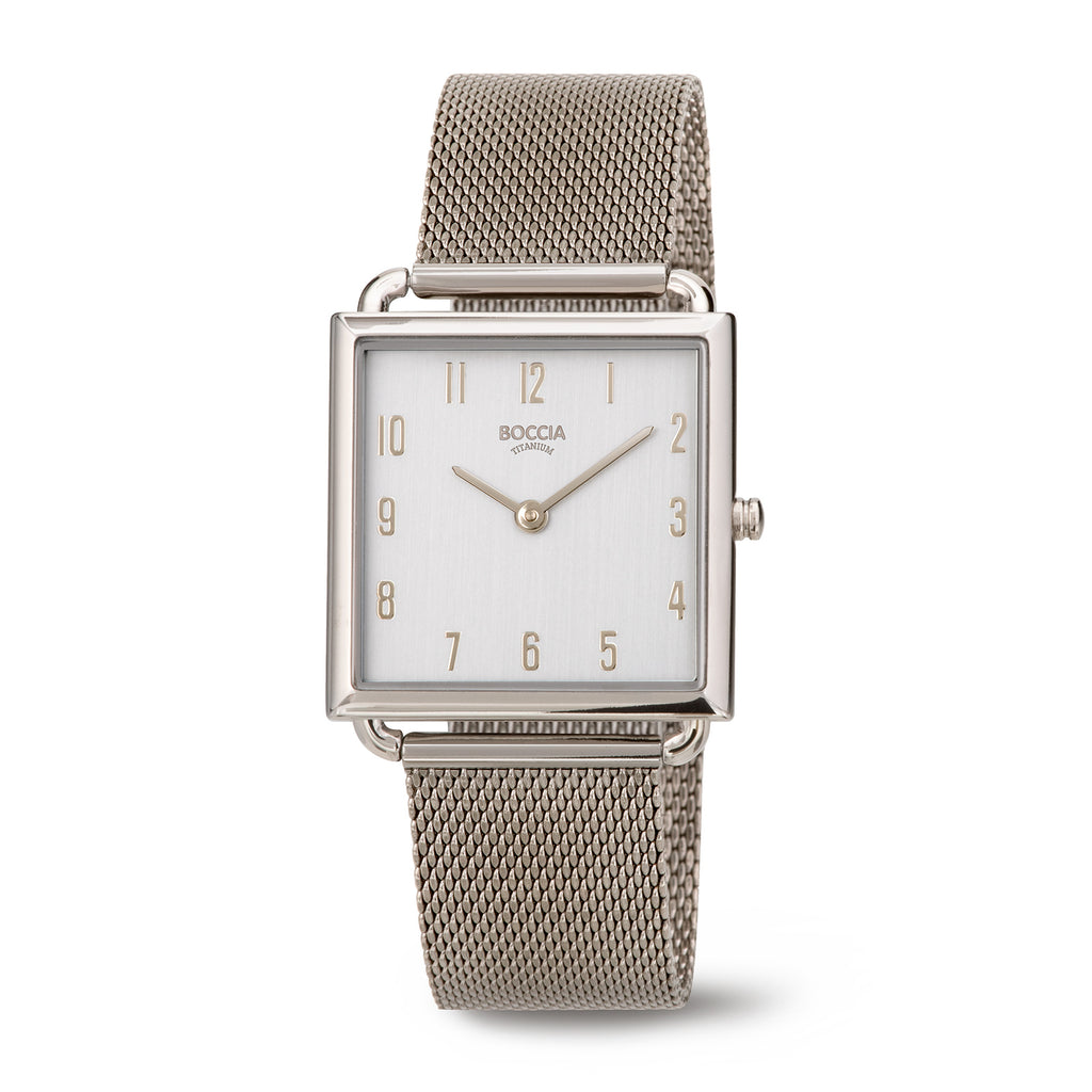 3305-04 Ladies Boccia Titanium Watch