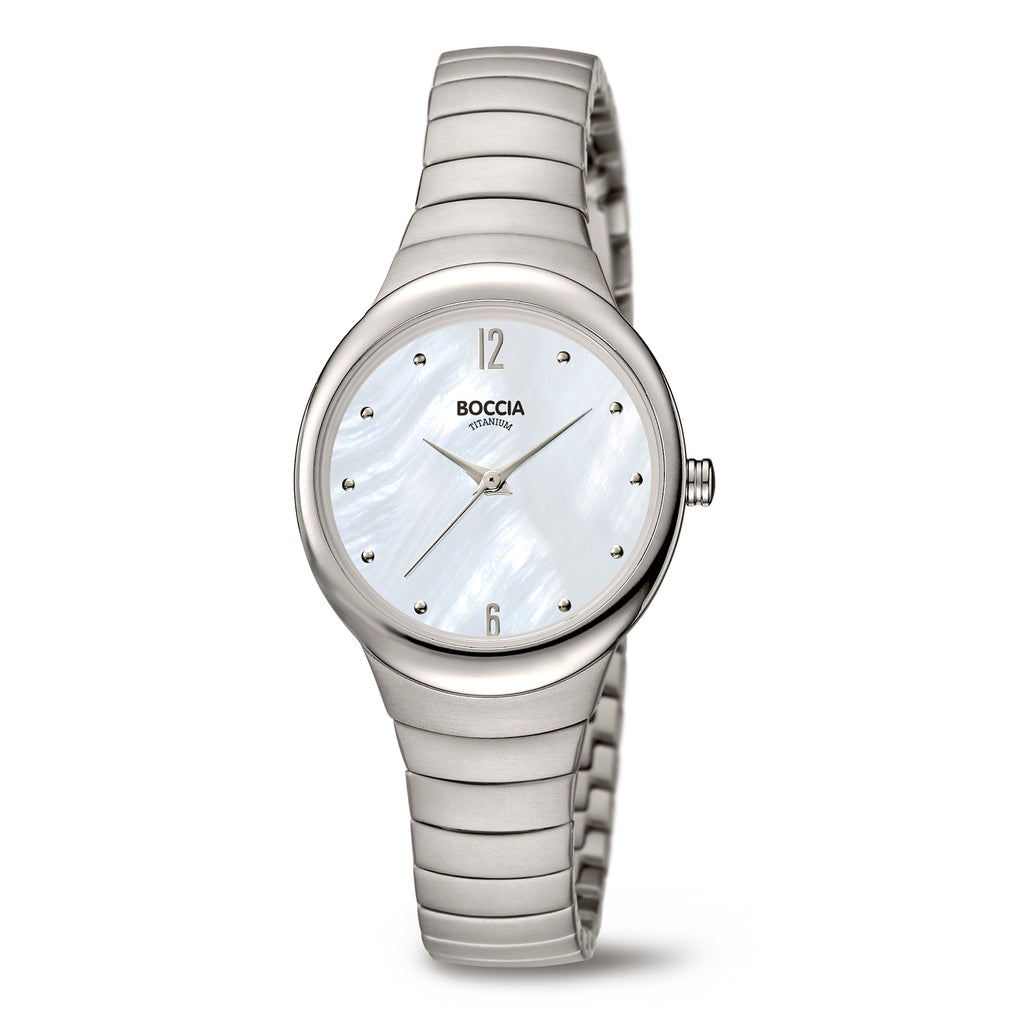 3307-01 Ladies Boccia Titanium Watch