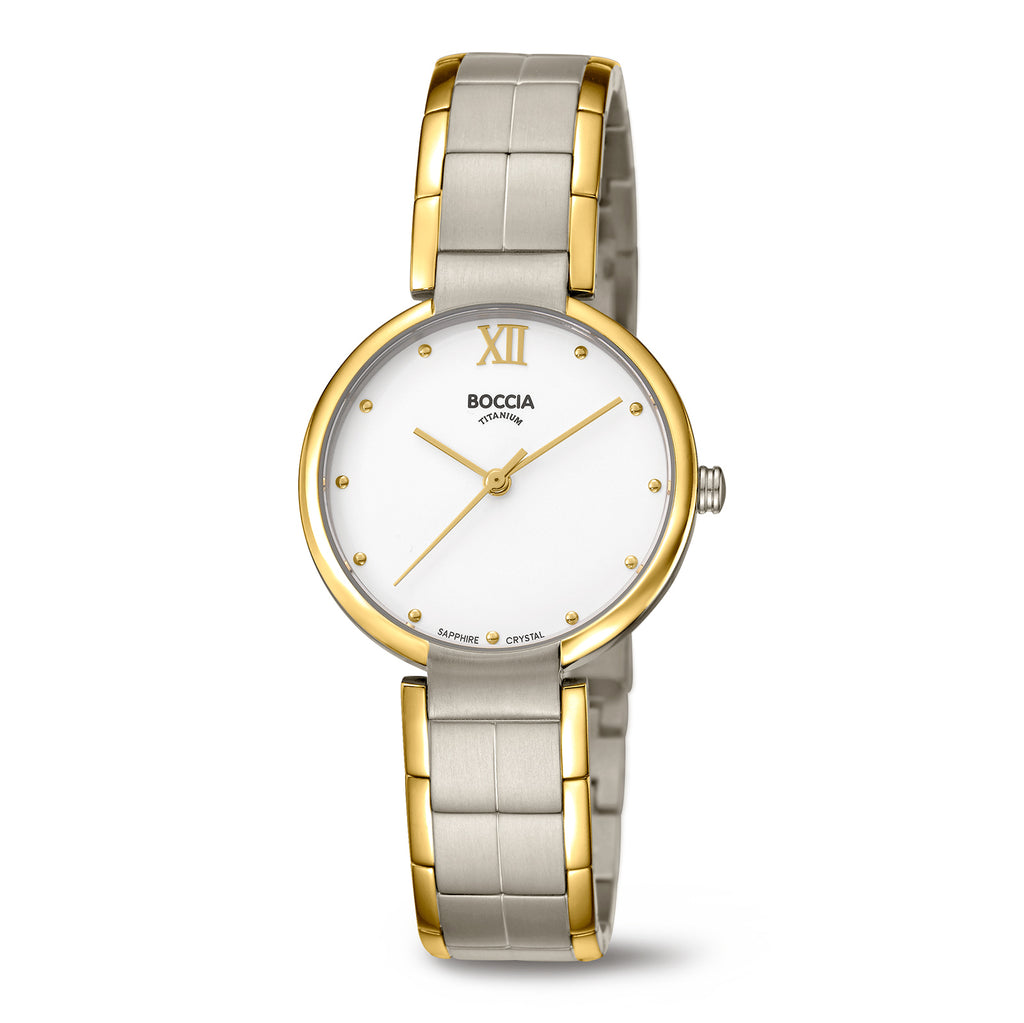 3313-02 Ladies Boccia Titanium Watch