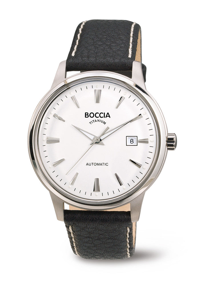 3586-01 Mens Boccia Titanium Automatic Watch