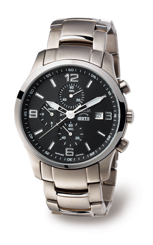3776-04 Mens Boccia Titanium Chronograph Watch