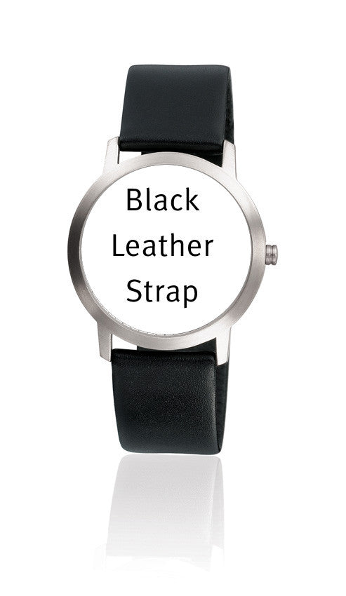 BRA14MML 14mm Black Leather Strap
