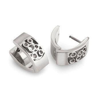 0579-01 Boccia Titanium Earrings