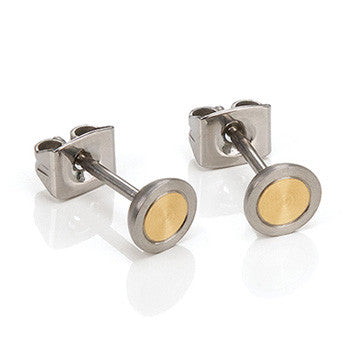 0541-02 Boccia Titanium Earrings