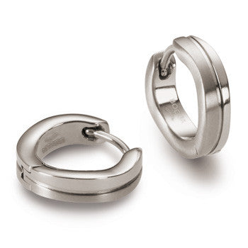 0563-01 Boccia Titanium Earrings