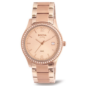 3235-01 Ladies Boccia Titanium Watch