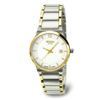 3227-02 Ladies Boccia Titanium Watch