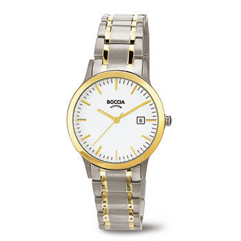 3239-02 Ladies Boccia Titanium Watch