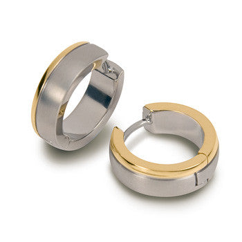 0539-12 Boccia Titanium Earrings