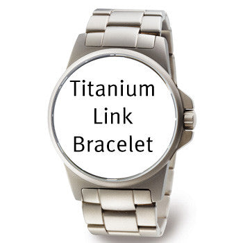 BLACKTITAN3535 Boccia id. Black Titanium Watch Bracelet
