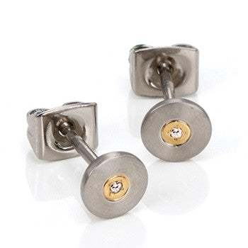 0545-02 Boccia Titanium Earrings