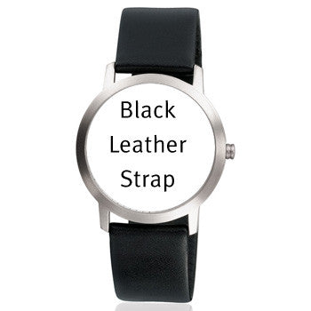 BRA16MML 16mm Black Leather Strap