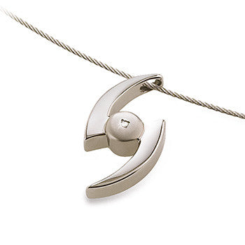07025-02 Boccia Titanium Pendant  (choose chain separately)