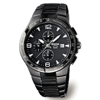 3773-03 Mens Boccia Titanium Chronograph Watch